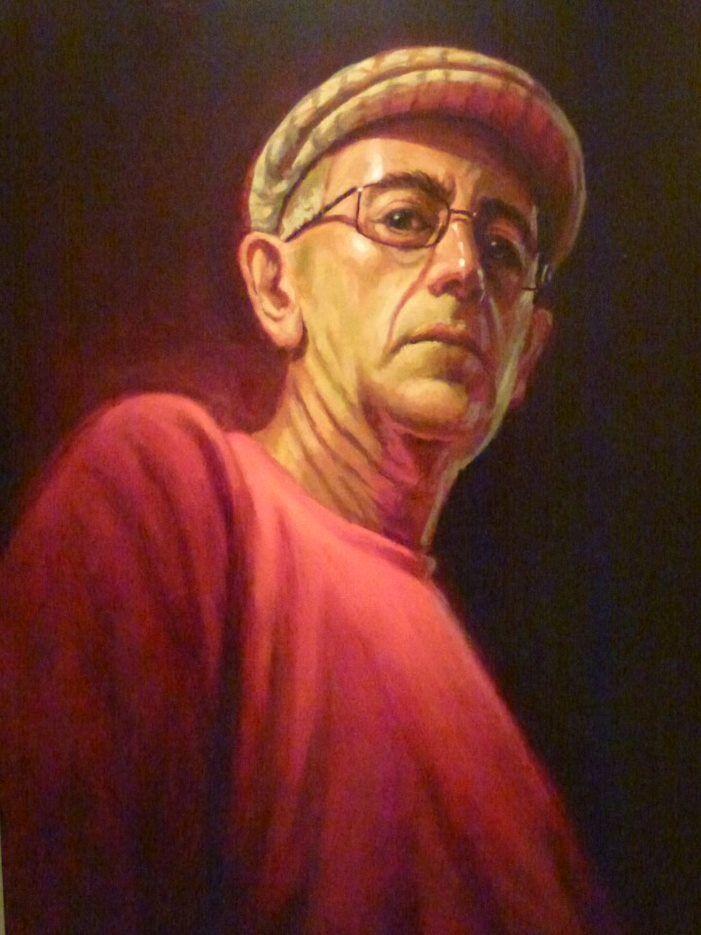 'Self-portrait', by Rod Edelsten, Winner 2016