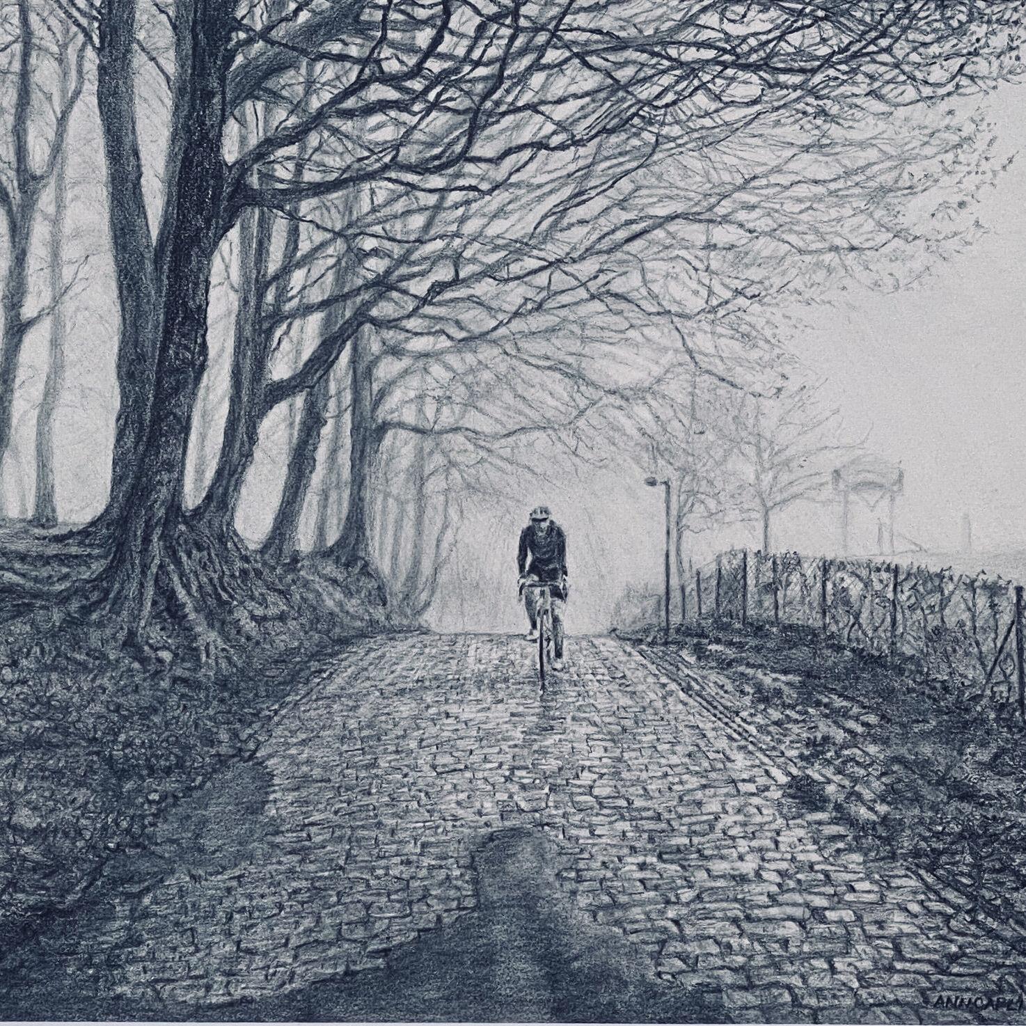 Ann Capling_Winter Ride in Flanders