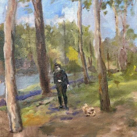 John Wakefield-An Iso Walk with Muffin
