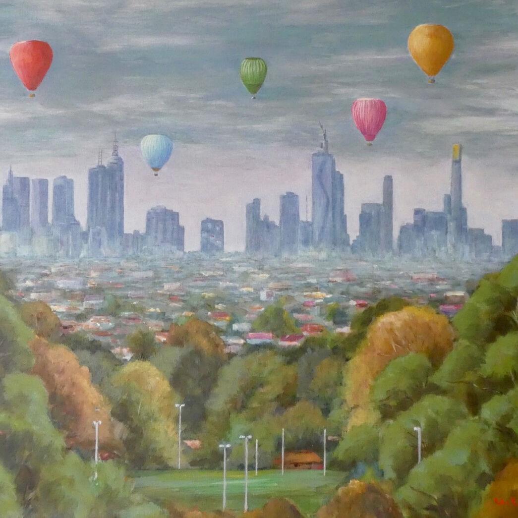 Helen Carter_Melbourne - a New Dawn a New Day 2