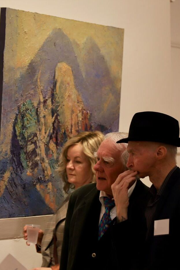 150th Anniversary Event Image art critique