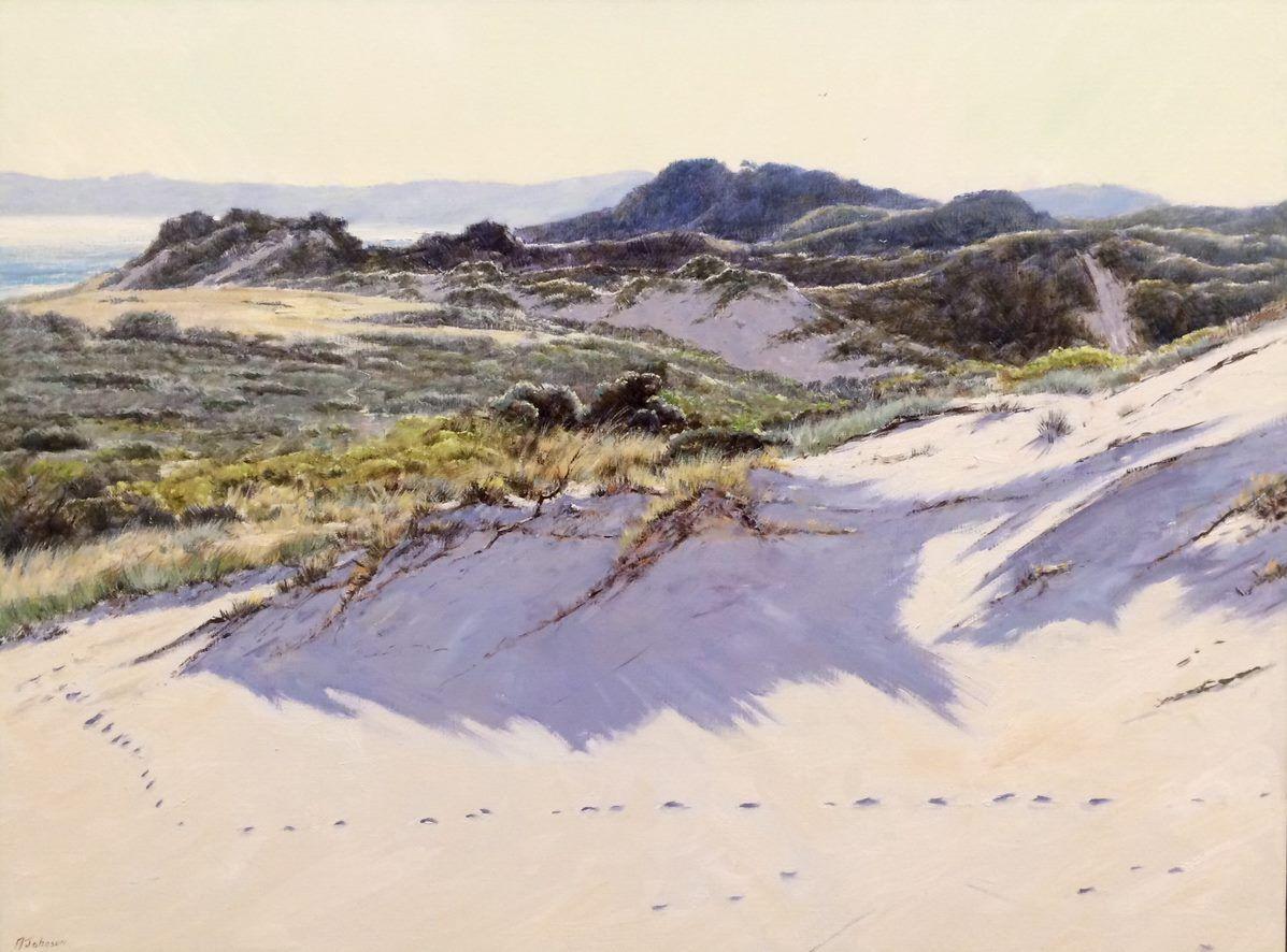 'Dunes of the Bunurong'by Adrian Johnson, Winner spring 2017