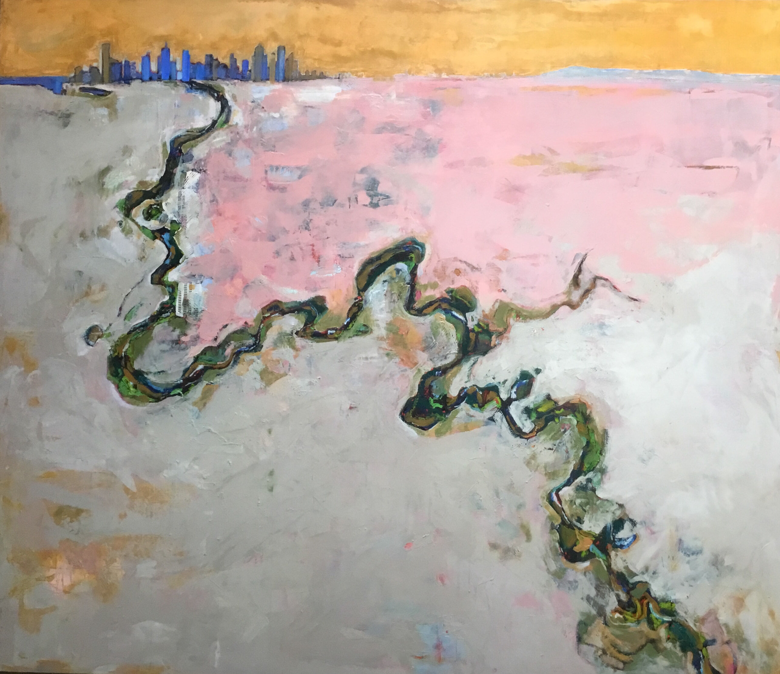 08_TILE_LATEST_Soul of the Yarra, oil by Bronwen Hunt