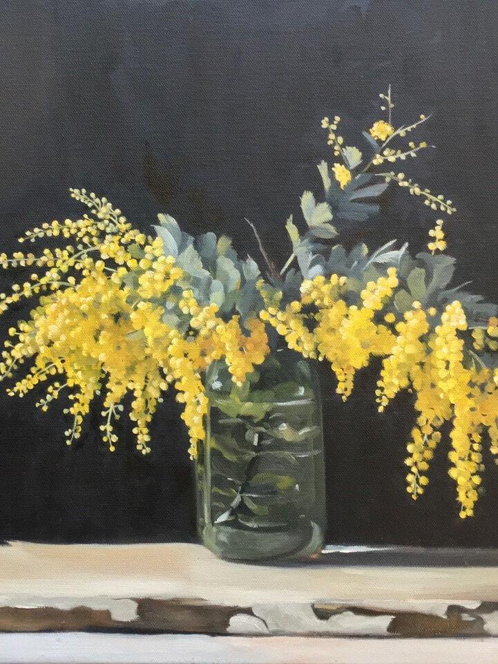 Winter Wattle by Sue Morris