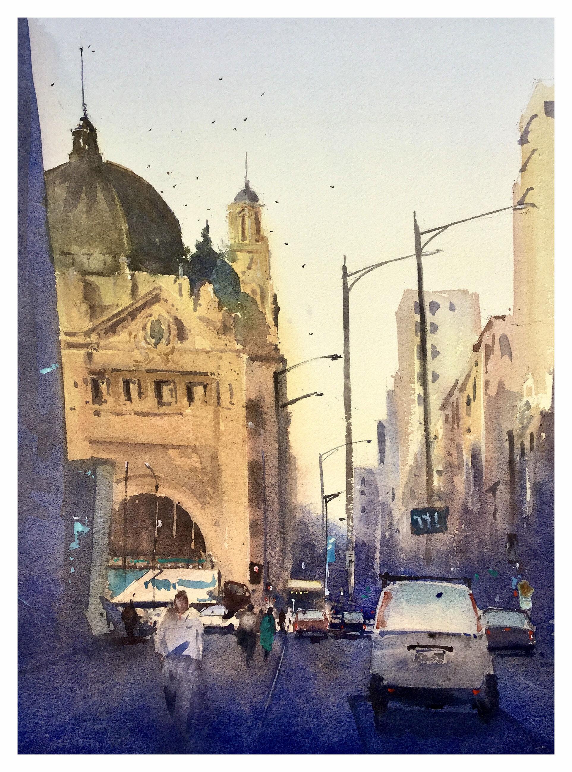 TED_DANSEY_Flinders St
