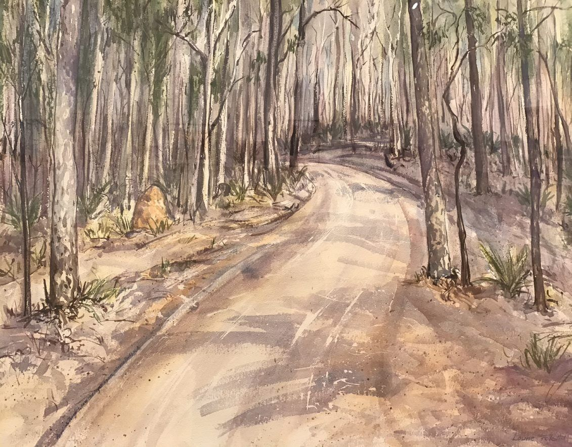'Through the spotted gums', by LouiseFoletta, Winner 2017