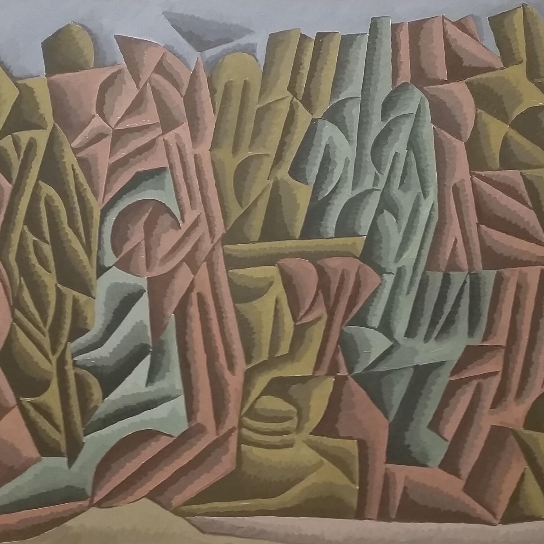 Paul Laspagis_Hillside with Trees_HC 2021