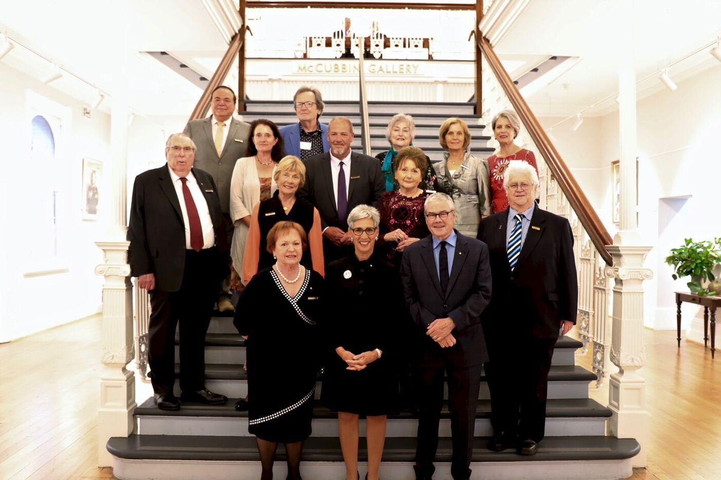 VAS council at anniversary event