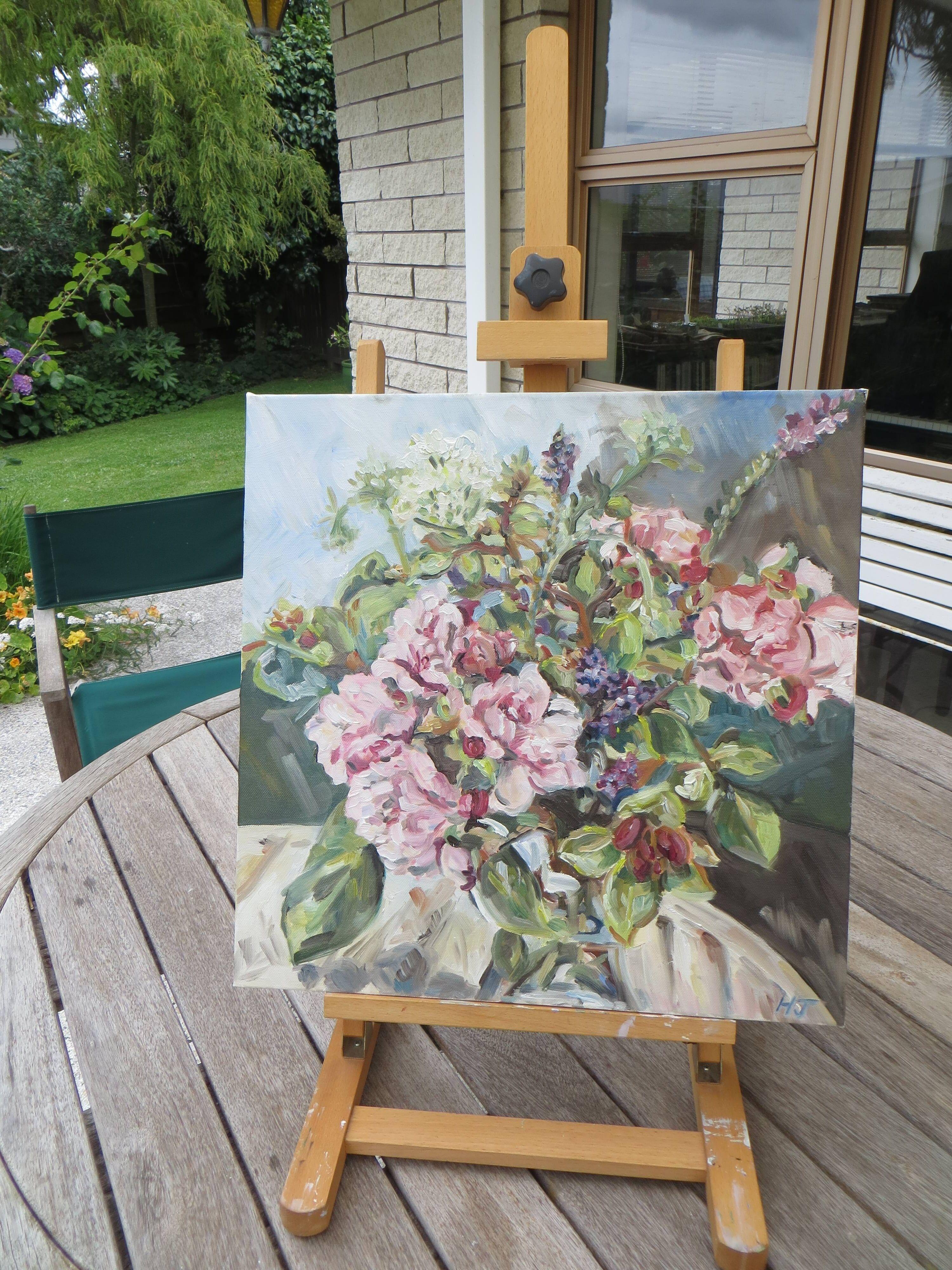 Roses, Wild Sage, and Bishop's Flowers Gallery Image