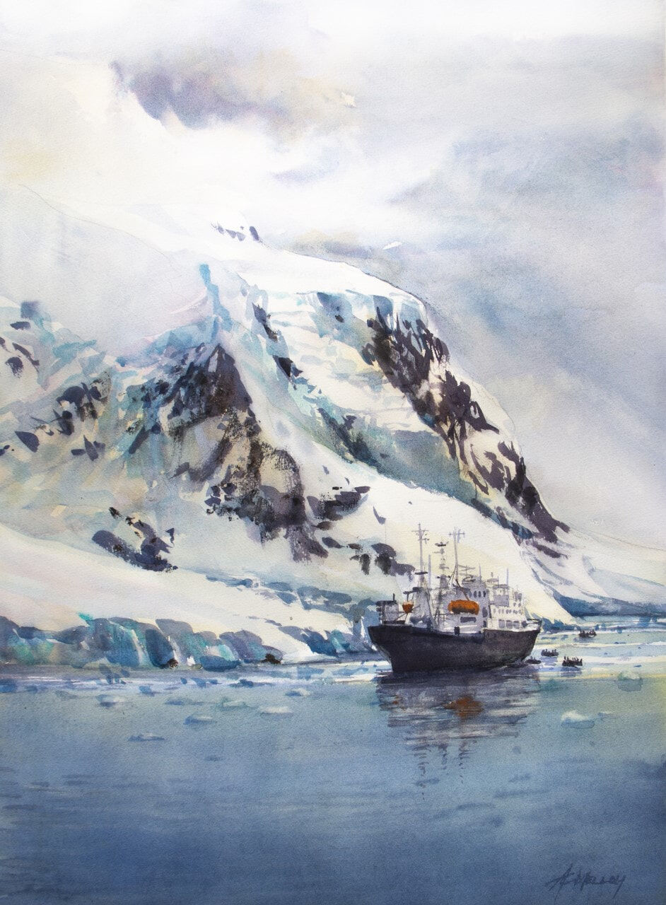 Anne Melloy, polar Pioneer, Highly Commended 2021