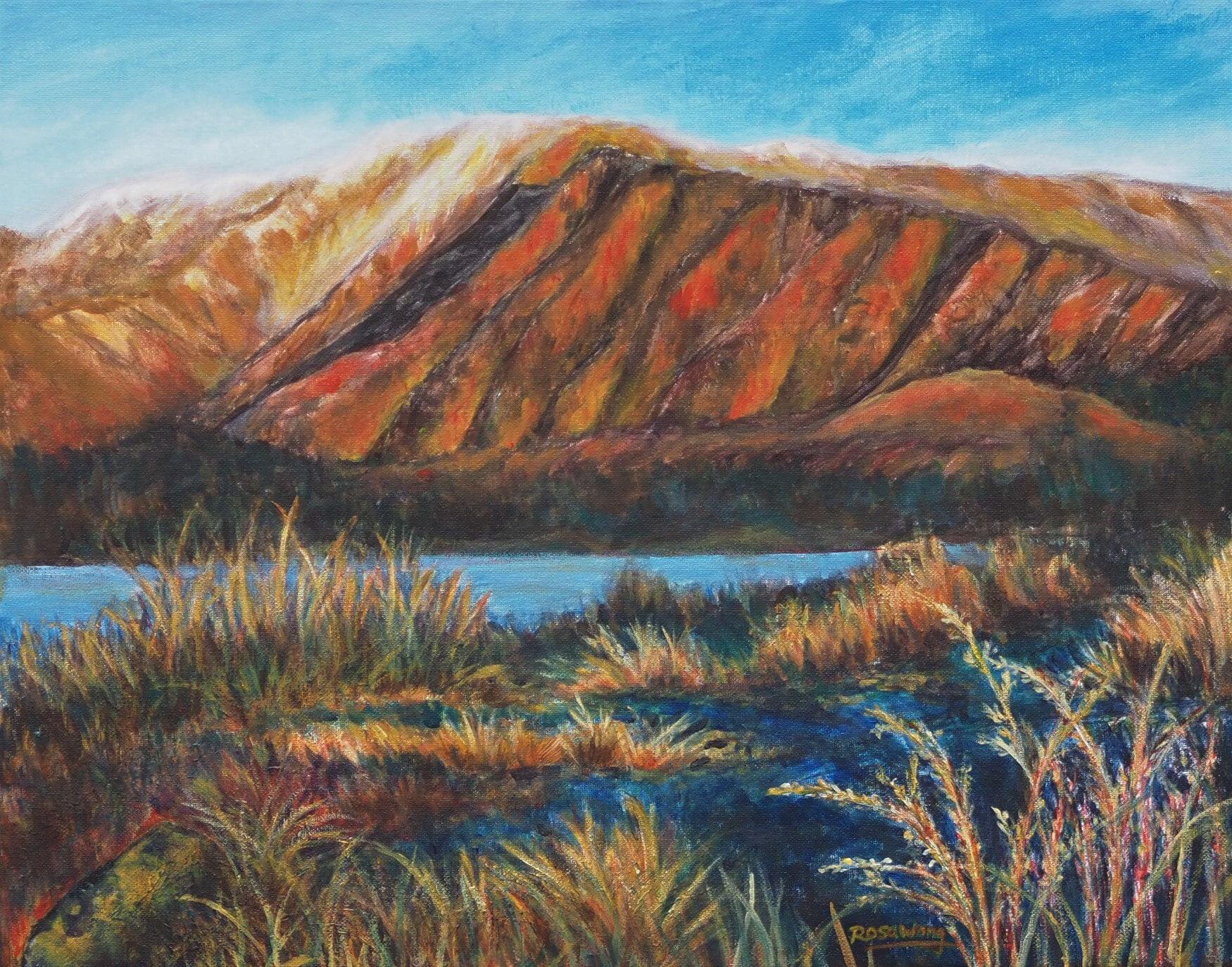 Rosa Choy_Sunset at Lake Tekapo