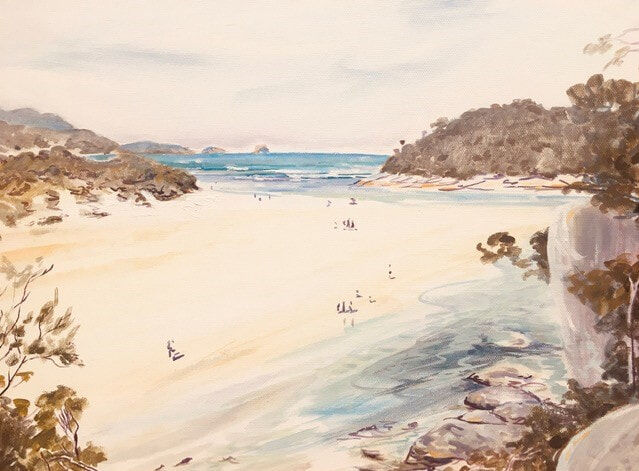 70_Peter Sharp_Tidal River_Oil on canvas
