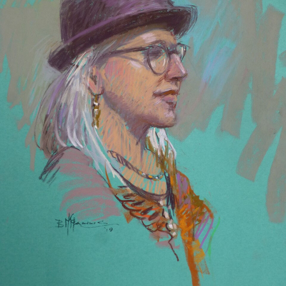 Woman in a Hat_Barb McManus