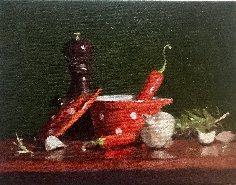 Paul McDonald Smith Red Dish