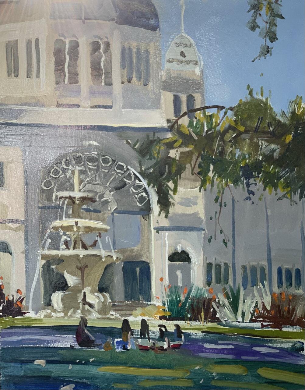 Exhibition Gardens, Ray Wilson