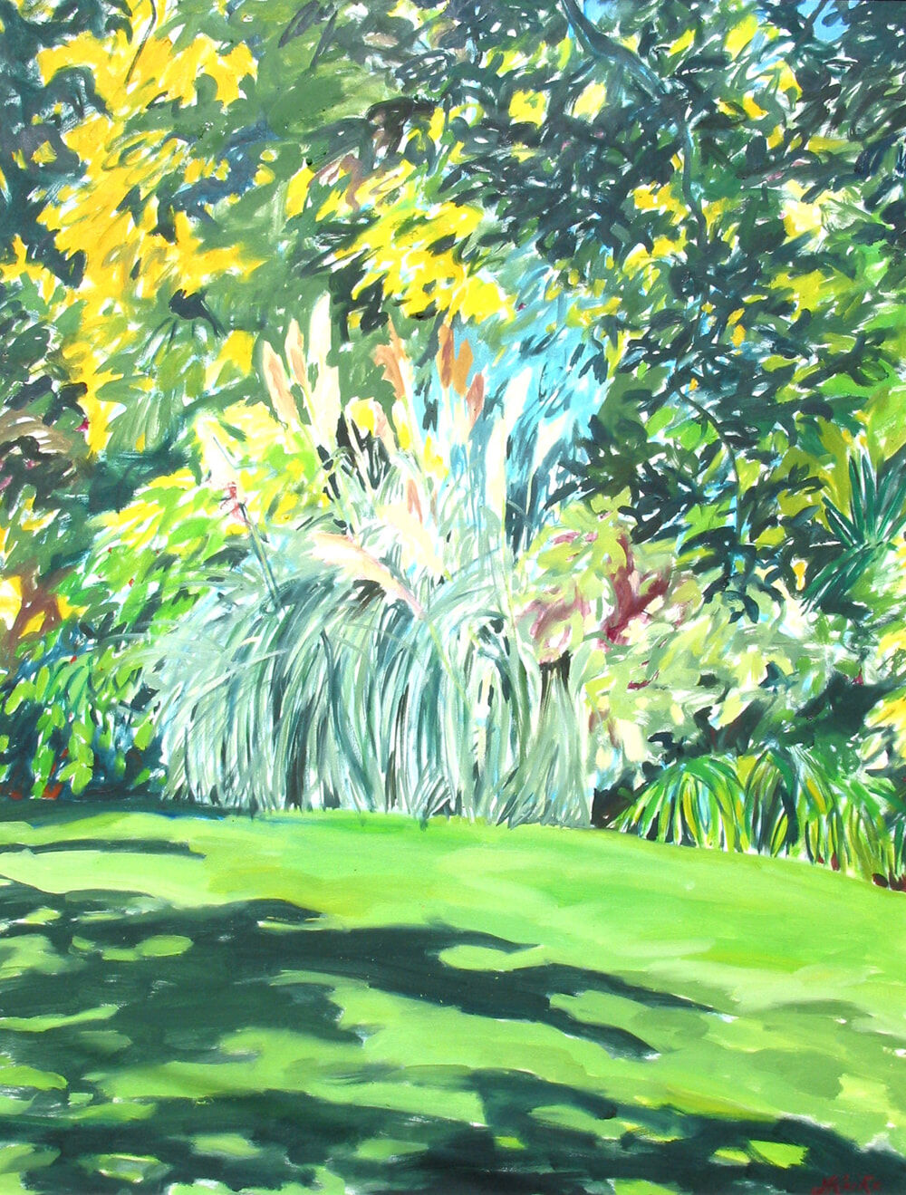 JO REITZE Royal Botanic Gardens Oil on Canvas