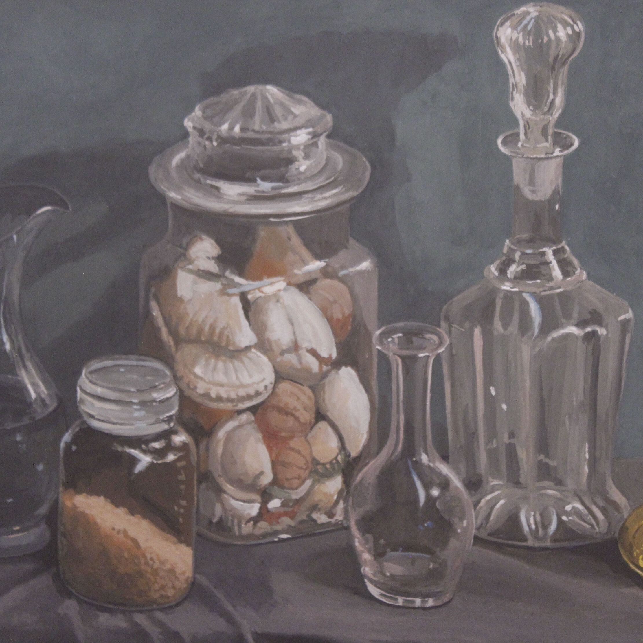 32a_Walter Magilton_Glass is the word_Gouache