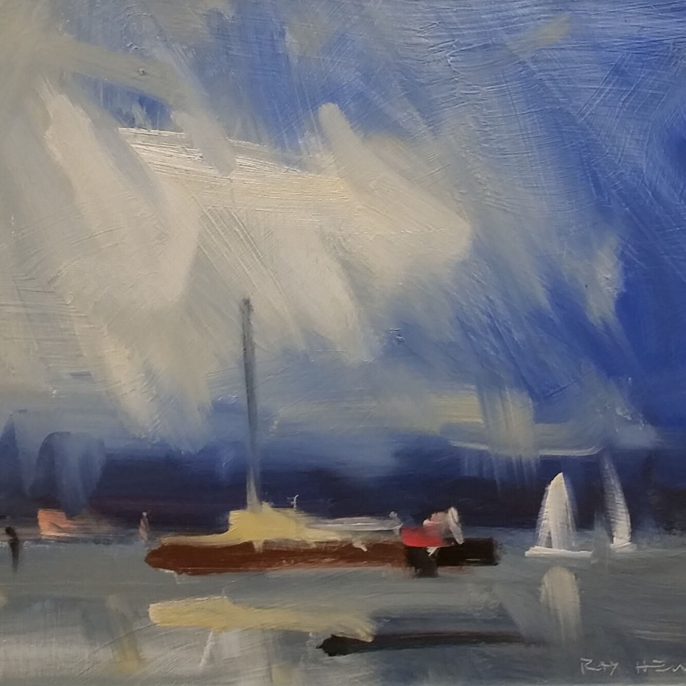 Ray Hewitt, Passing Shower, Highly Commended 2021
