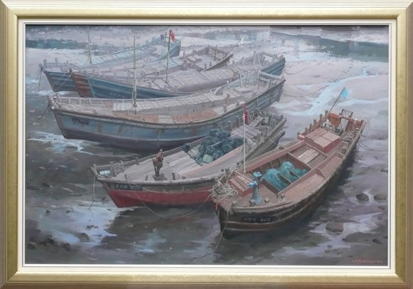 580-WMagilton-Chinese-Boats