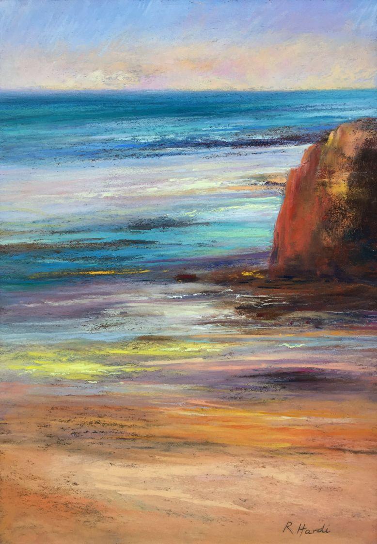 RADMILLA_HARDI_Hot Summer, Pastel, 32,5cm X 23cm