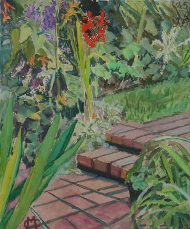 Marion Chapman_Steps, Jo's Garden