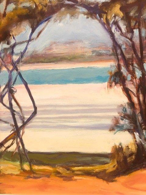 74_Faye Owen_Beach beckons, Lorne_Oil