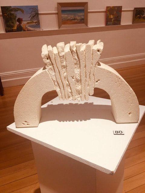 80_Maxine Wain_Keystone II_Sculpture_Limestone