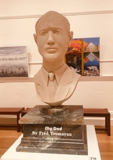 79_Fred Toumayan_My Dad_Sculpture_Clay