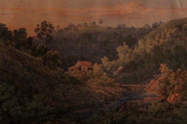 Daylesford 1885 by Elizabeth Parsons