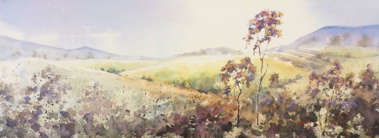 16A_Jon Lam_Alive with Music_Watercolour_42x96
