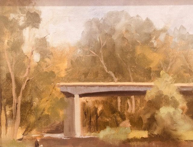 36_Peter Cranswick_Yarra View Warrandyte_Oil