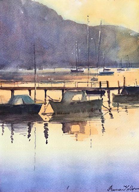 87_Annee Kelly_A Gippsland dawn_Watercolour