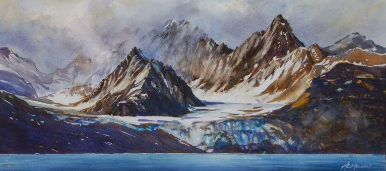 Anne_Melloy_Glacial Morning_watercolour