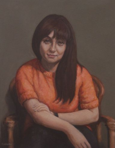 31b_Moira Laidlaw_Portrait of a Young Maltese Girl_Oil on Canvas