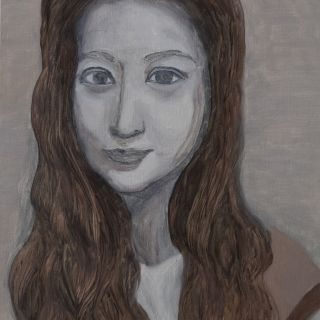 In the lockdown period, Lihong started her first self portrait painting.​