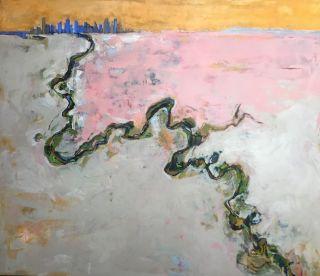08_TILE_LATEST_Soul of the Yarra, oil by Bronwen Hunt