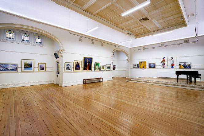 VAS Hammond Gallery_GALLERY HIRE