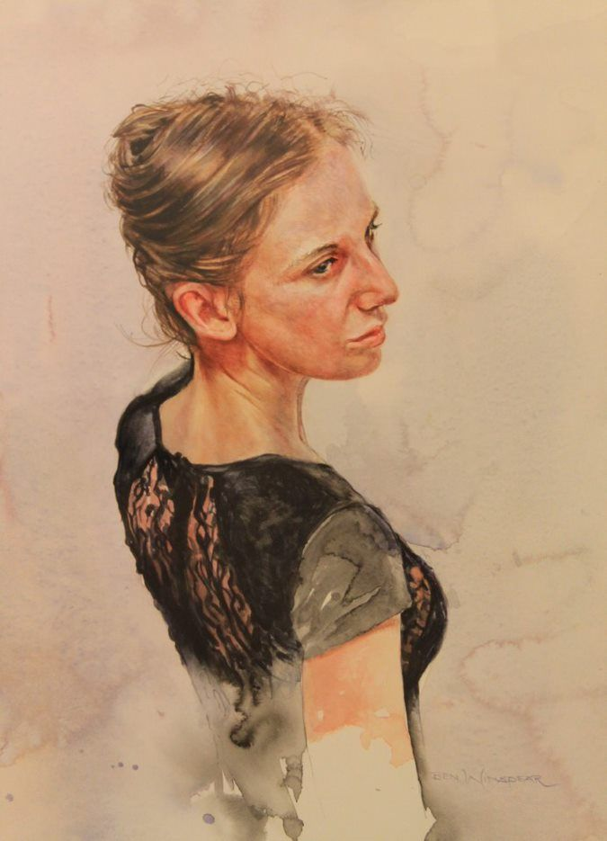 'Emily in a Black Dress,' by Ben Winspear, Winner 2015