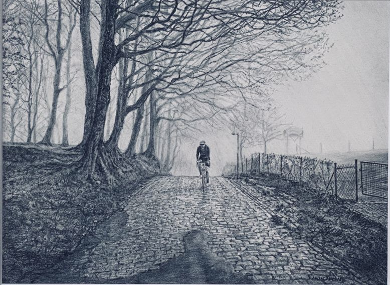 Ann Capling_Winter Ride in Flanders