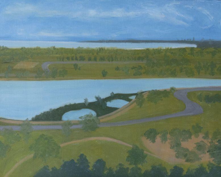 Lihong_Albert Park 40x50cm Oil on Canvas