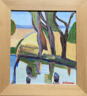 Robyn Pridham_Entry Form Nature's Way Artist - Robyn Pridham Title - Castlemaine Landscape