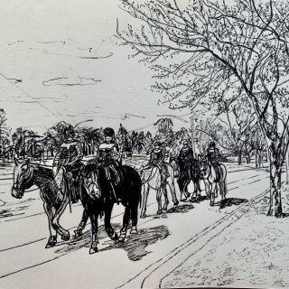 Lynn Banna_Mounted Policewoman