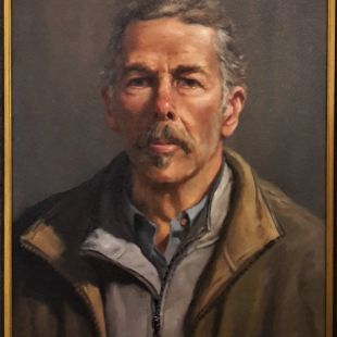 Self portrait by gregory r smith