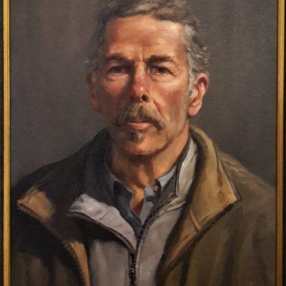 Self portrait by gregory r smith