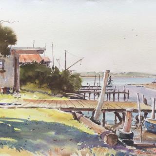 Annee Kelly_Kororoit Creek jetties