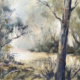 Neil Gude_Morning Mist Axedale