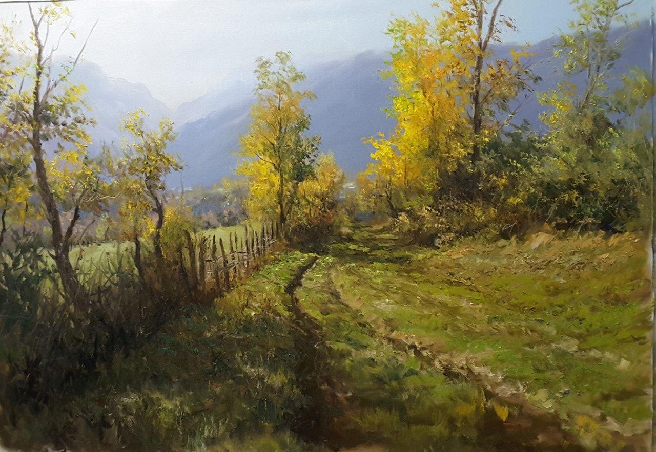 Faramarz Mokhtarpour_ Mountain Pathway
