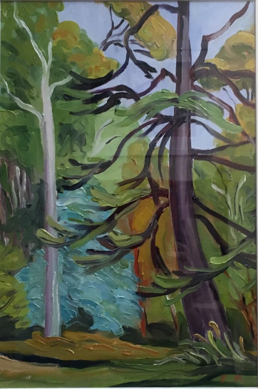Eva Miller_Pine tree