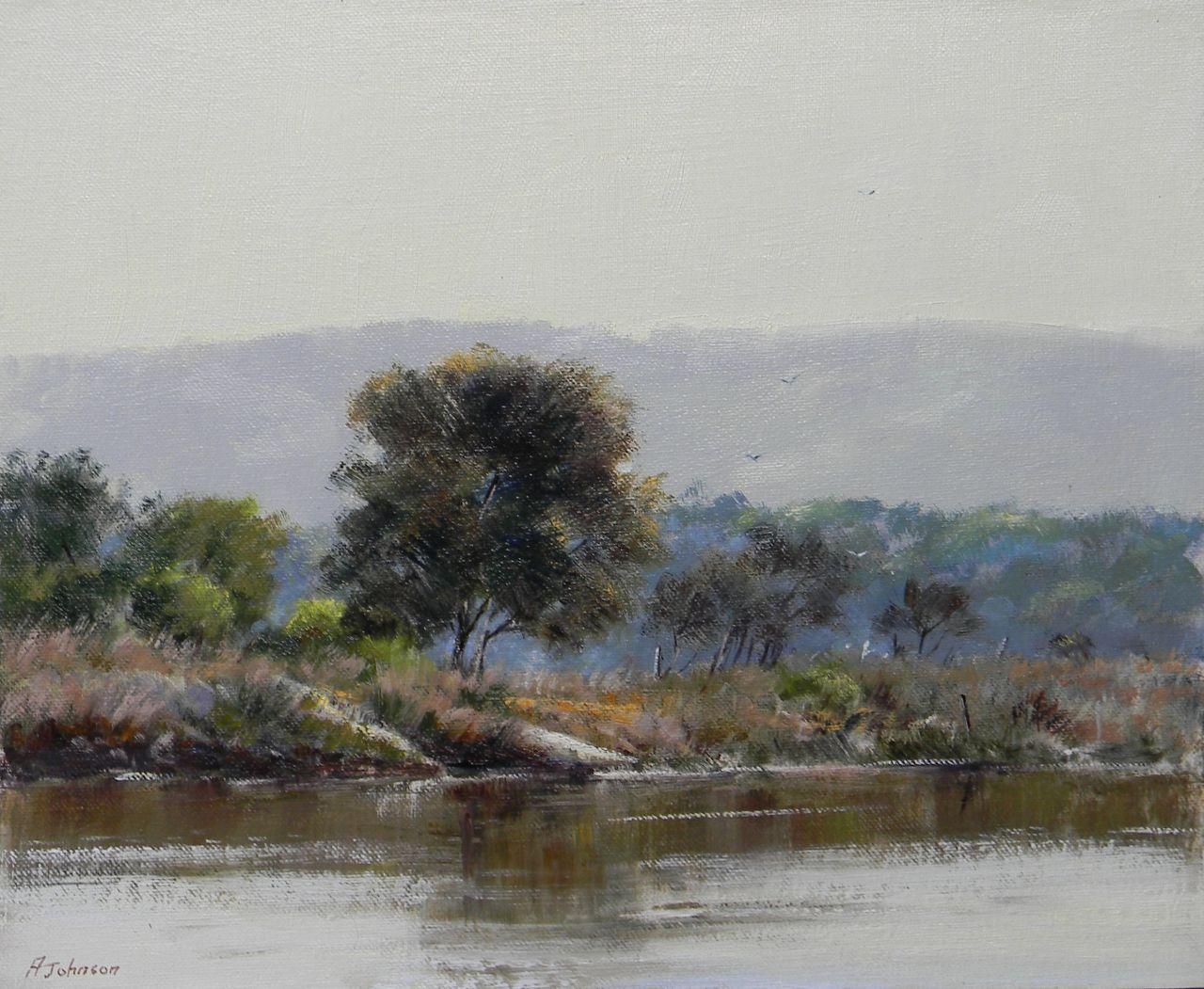 Adrian Johnson Powlett River Reflections
