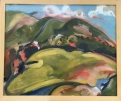 Joseph Luczynski Title - Rolling Hills - Oil on Canvas.